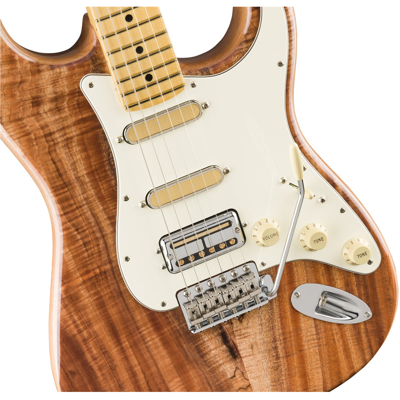Fender Rarities Flame Koa Top Stratocaster - Natural w/ Maple Fingerboard