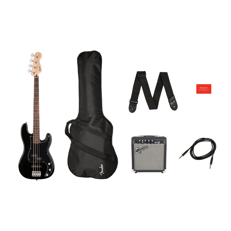 FENDERPK PJ BASS BLK GB R15