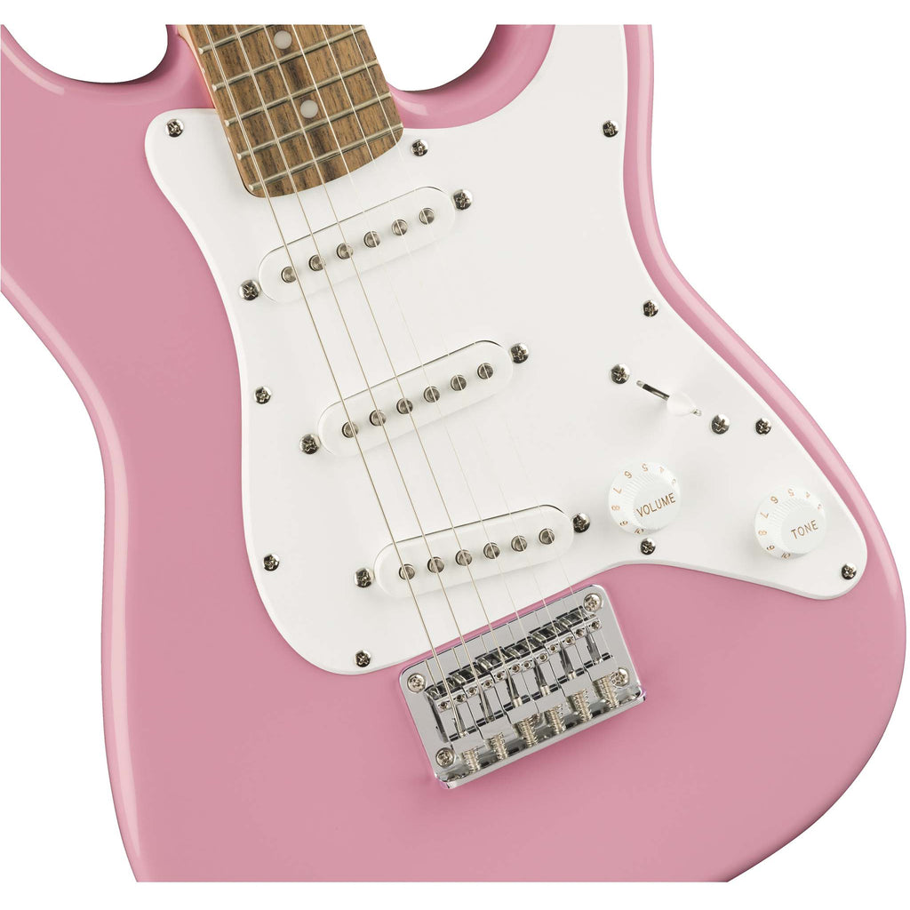 FENDER SQ MINI STRAT V2 PINK