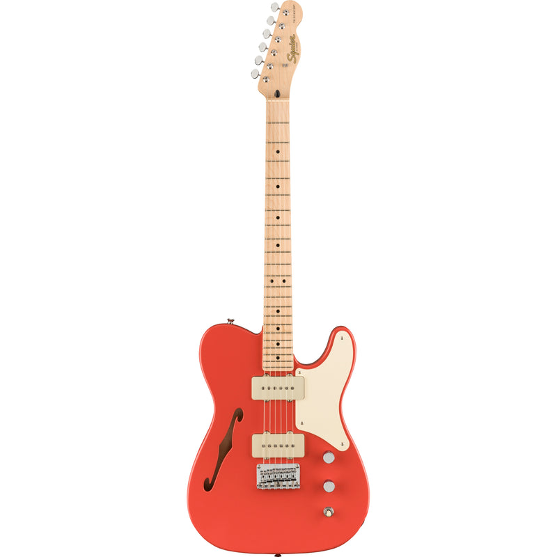 Squier Paranormal Cabronita Telecaster Thinline, Maple Fingerboard, Fiesta Red