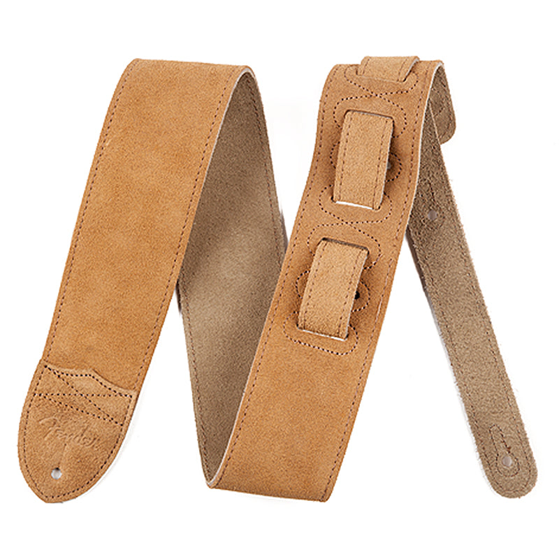 Fender Suede Leather Gtr Strap