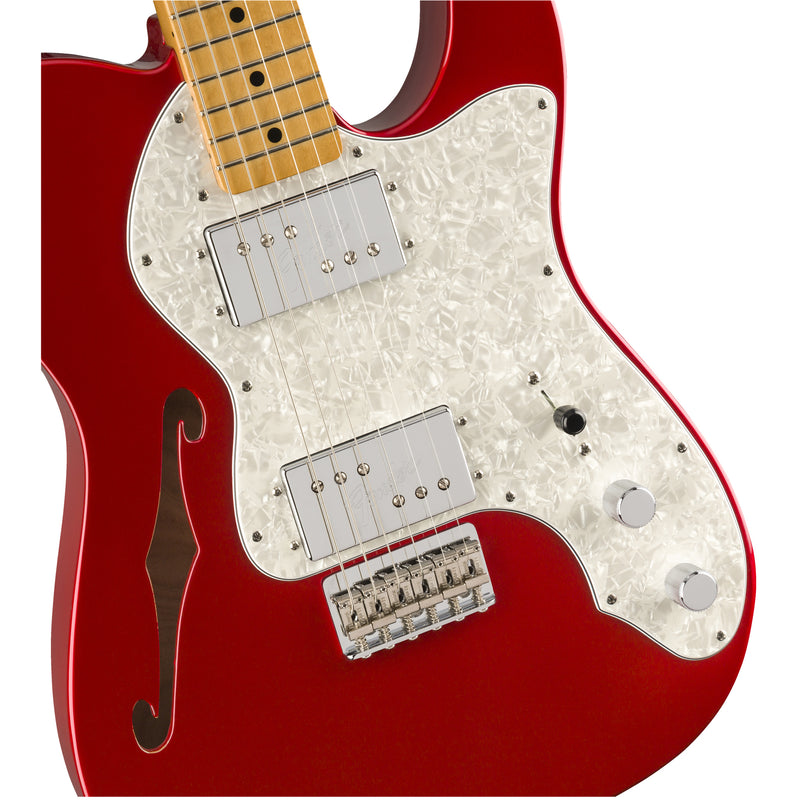 Fender Vintera 70s Telecaster Thinline - Candy Apple Red