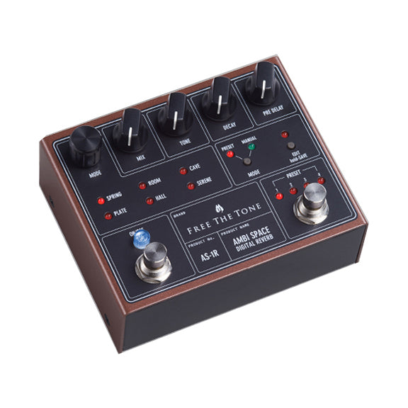 Free The Tone AS-1R Ambi Space Reverb Electric Guitar Effects Pedal