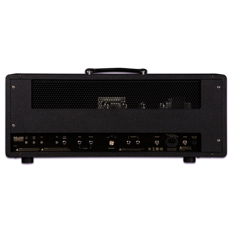 Friedman BE-100 Deluxe 3-channel 100-watt Tube Head
