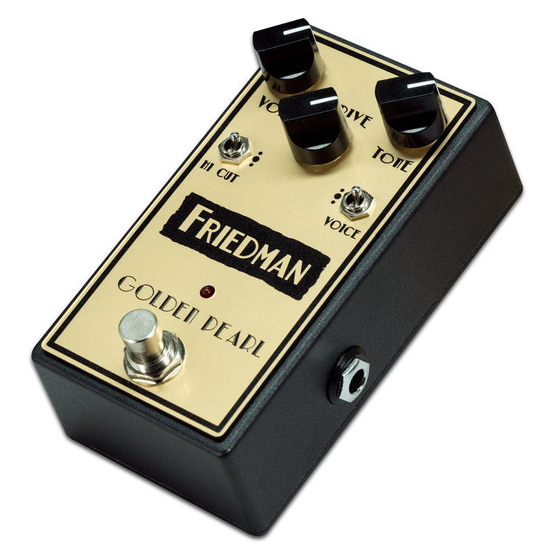 Friedman Golden Pearl Overdrive Pedal
