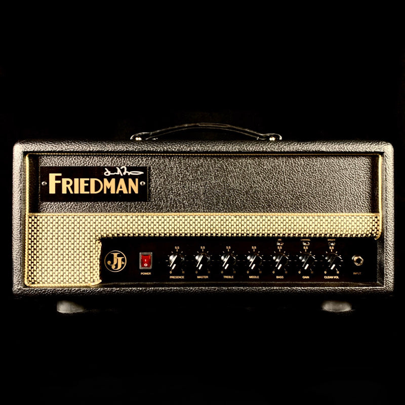 Friedman JJ-Junior Jerry Cantrell Signature Guitar Head - Personally Autographed by Dave Friedman!