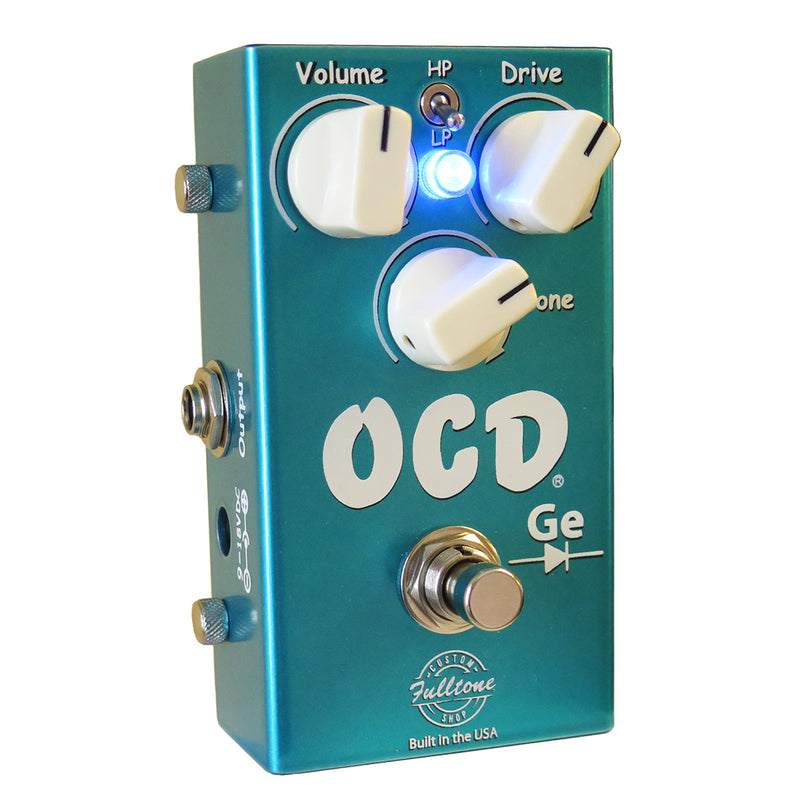 Fulltone Limited Edition Custom Shop OCD-Ge Germanium Overdrive Pedal (1st Run Pre-Order)