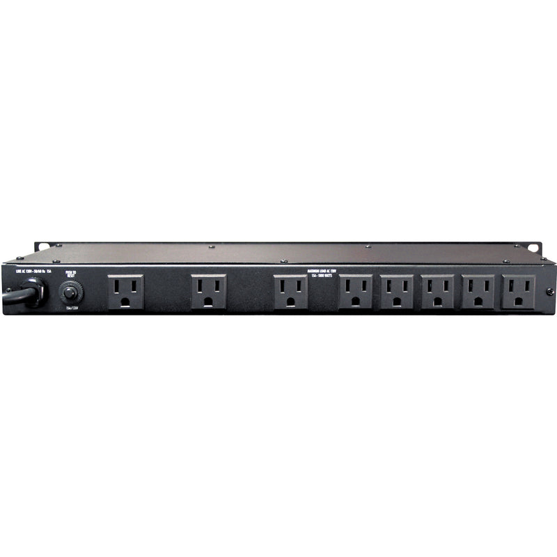 Furman M-8LX 8-outlet Rack Power Conditioner with Lights