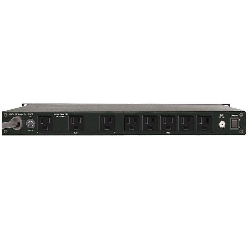 Furman PL-PLUS C 9-outlet Rack Power Conditioner with Lights and Voltmeter