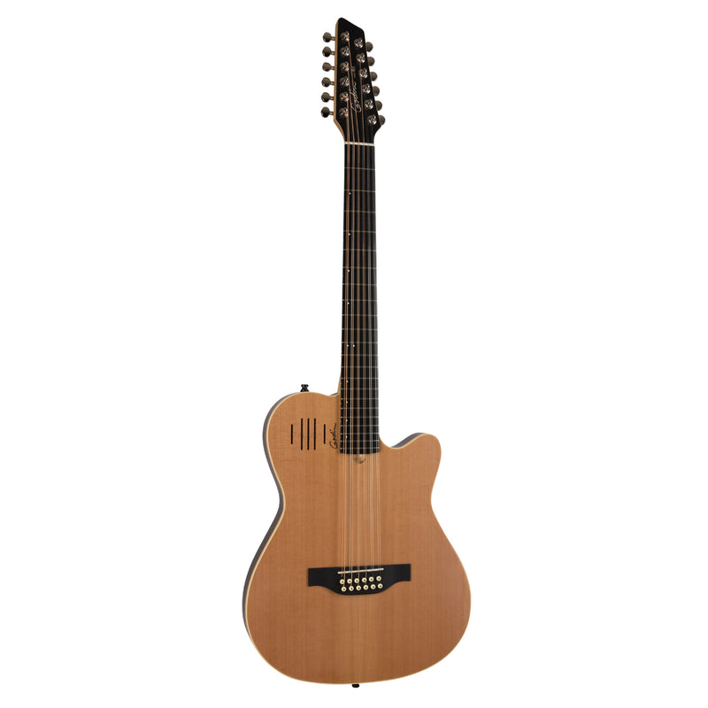 Godin A12 12-string Acoustic/Electric Guitar - Natural Semi-gloss
