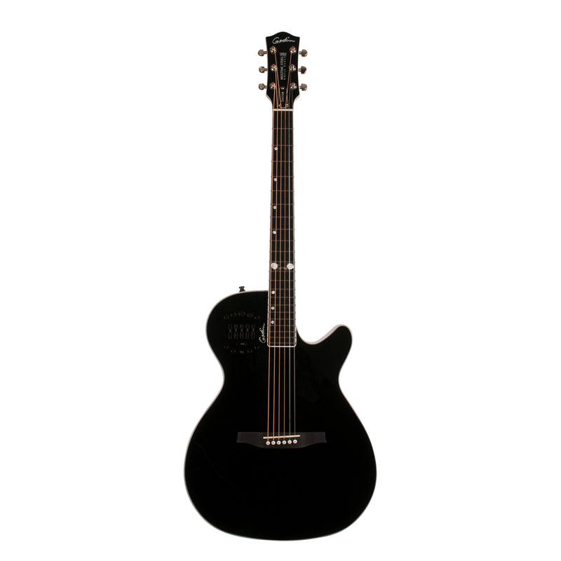 Godin Multiac Steel Doyle Dykes Signature Edition Acoustic/Electric Guitar - Black High Gloss