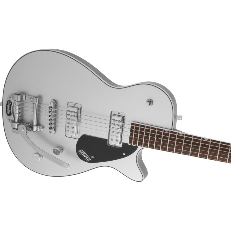 Gretsch G5260T Electromatic Jet Baritone with Bigsby - Airline Silver