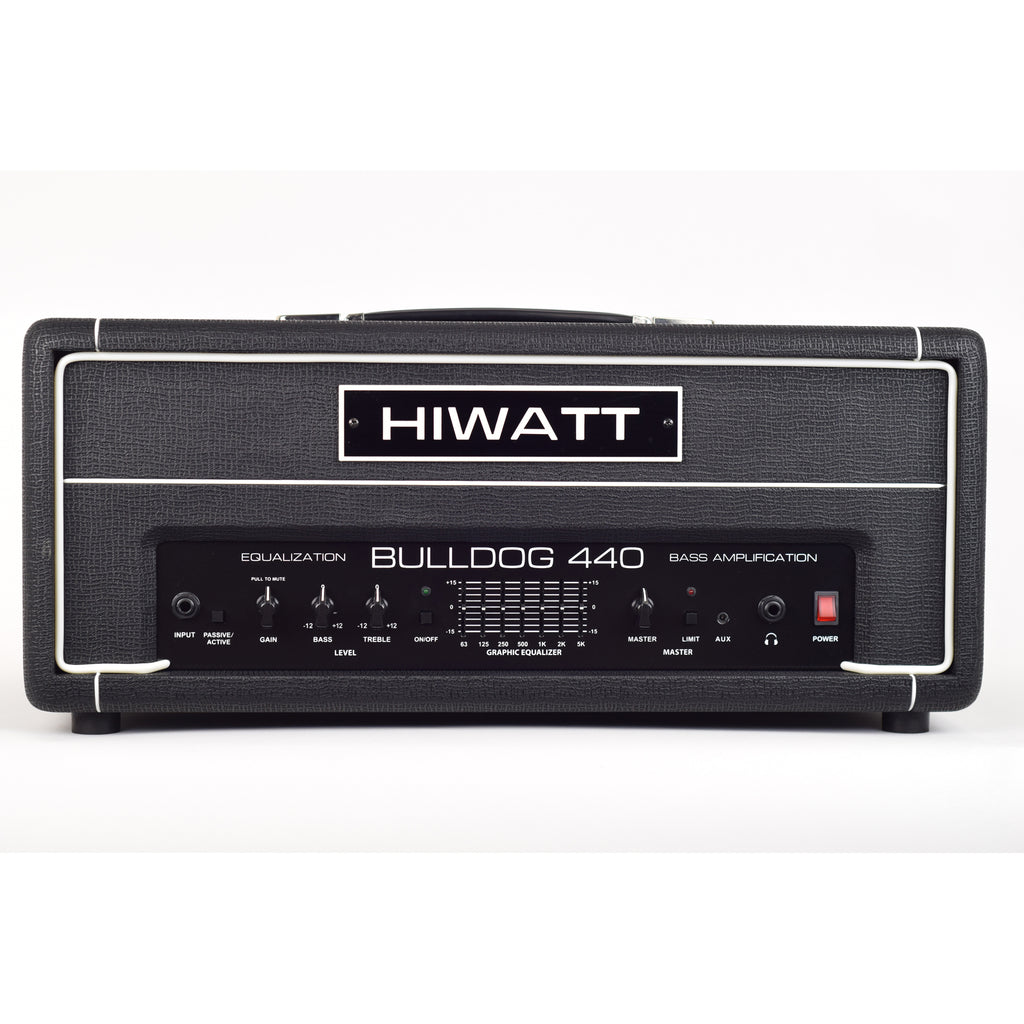Hiwatt Bulldog 440 Bass Head