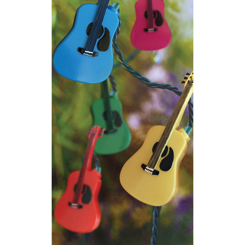 Holiday Lights Acoustic Guitar