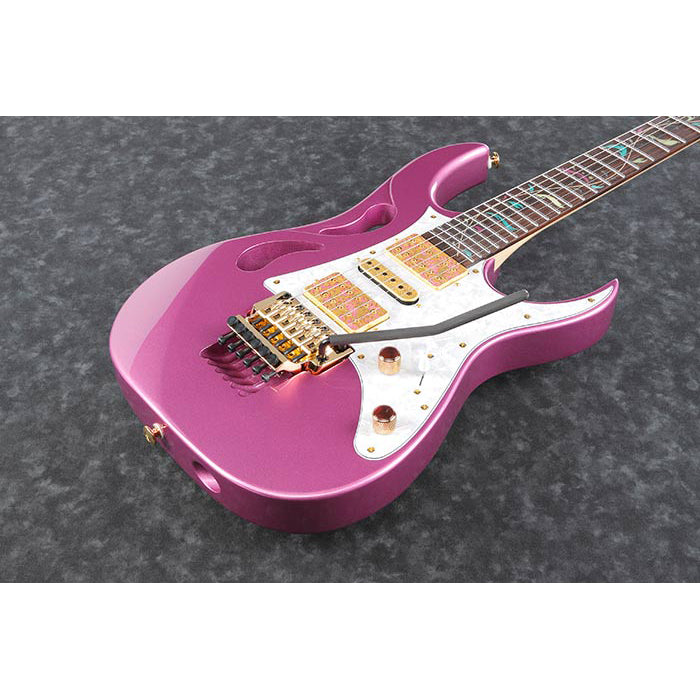 Ibanez PIA3761PTP Steve Vai Signature Guitar w/Case - Panther Pink