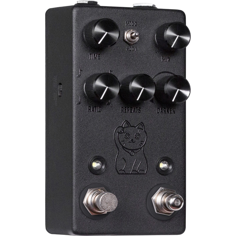 JHS Lucky Cat Black Tape/Digital Delay Pedal