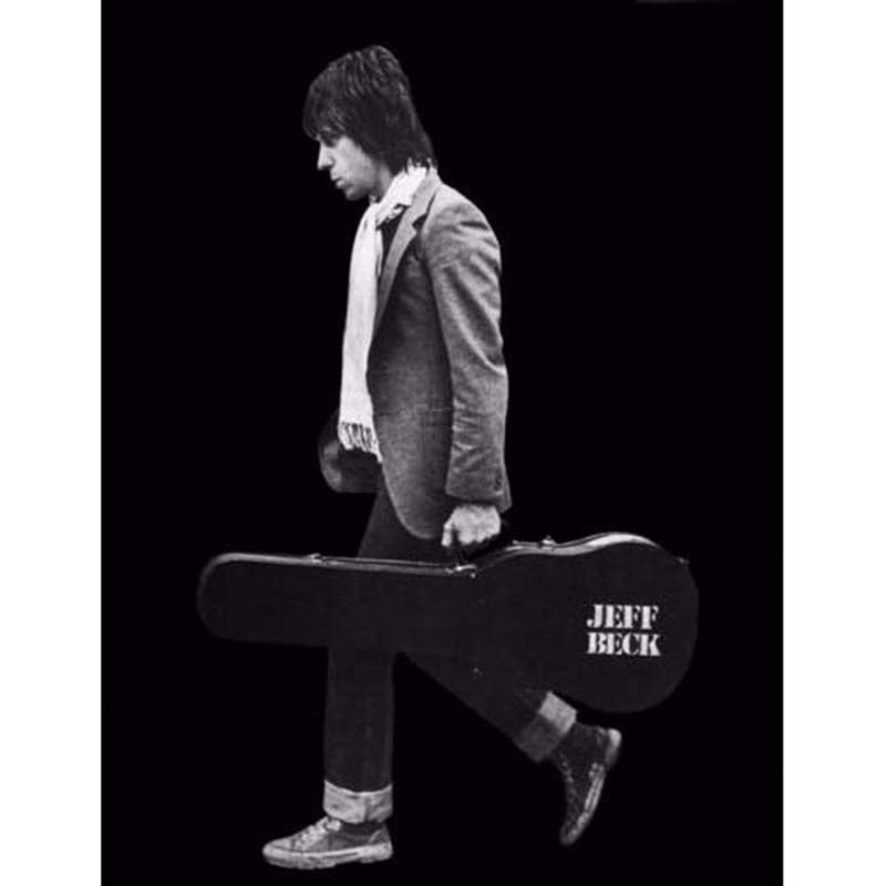 Jeff Beck with Case Poster