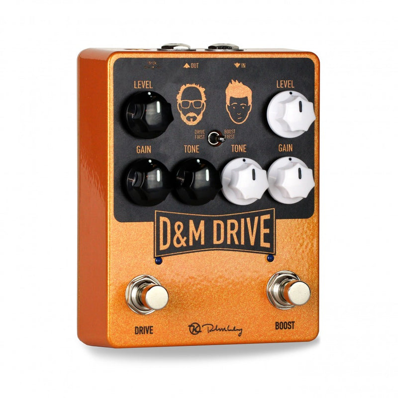 Keeley D&M Drive Overdrive Pedal with Boost