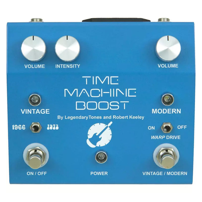 Keeley Time Machine Boost Pedal - NOS Handwired Version