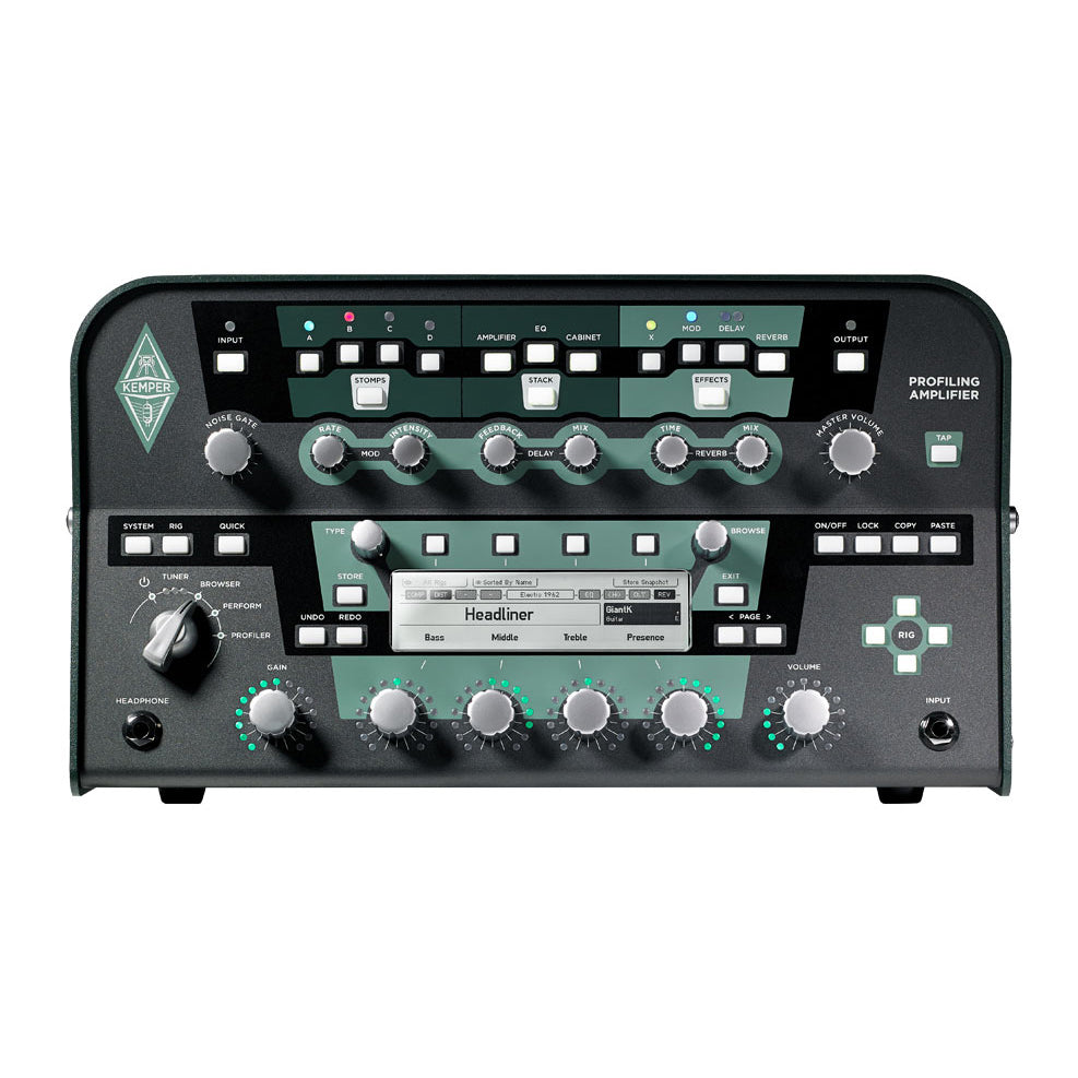 Kemper Profiler Amp Head Black