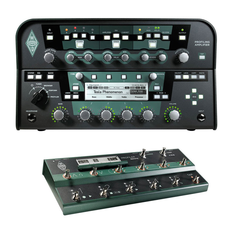 Kemper Profiler Head + Remote