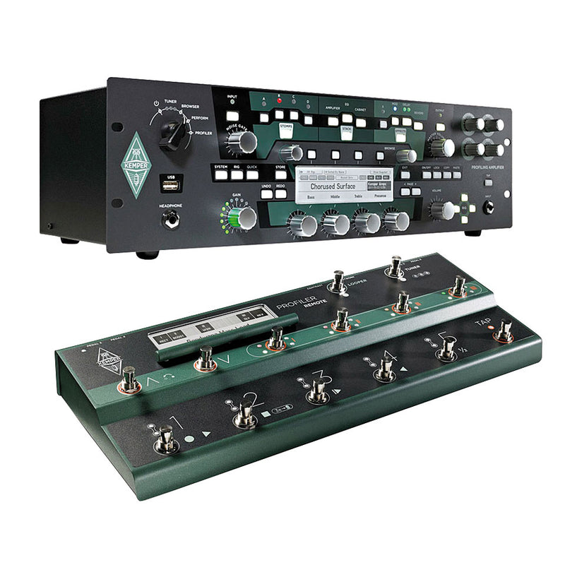 Kemper Profiler Rack + Remote