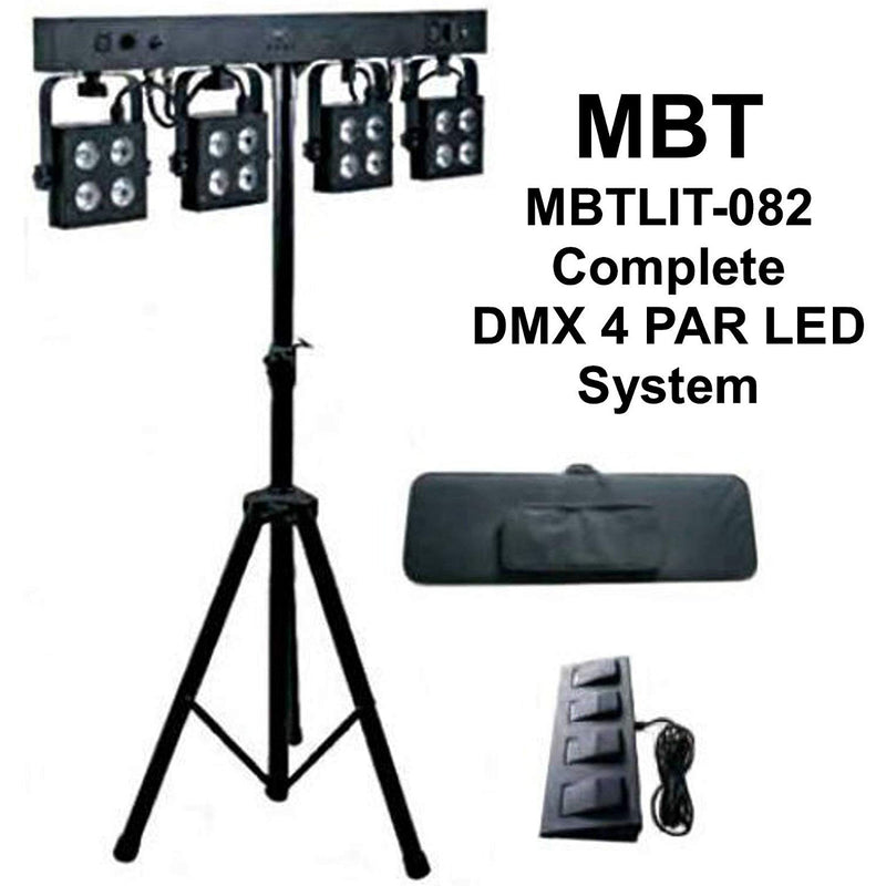 MBT 4Par Lighting System