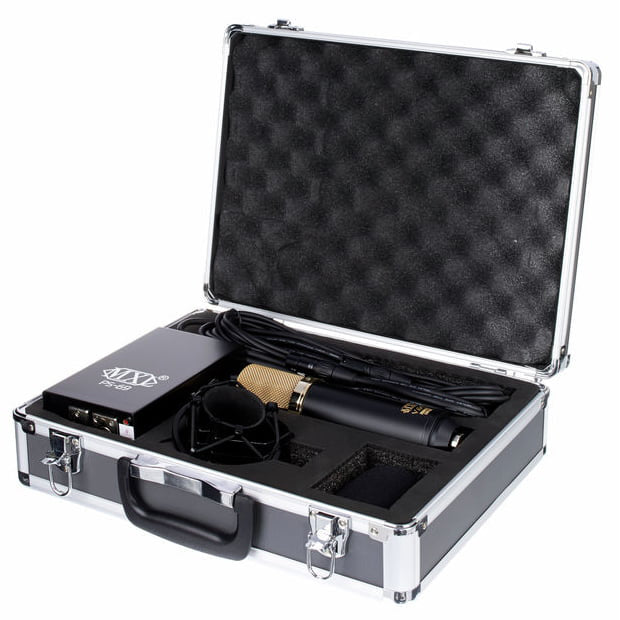 MXL V69 MEDT Mogami Edition Tube Vocal Microphone w/Shock Mount & Case