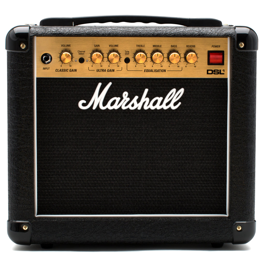 Marshall DSL1C 1W All Valve 2 Channel 1x8 Combo With Digital Reverb