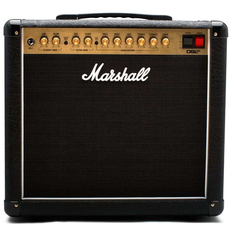 Marshall DSL20C 20W All Valve 2 Channel, 1x12 Combo With Digital Reverb