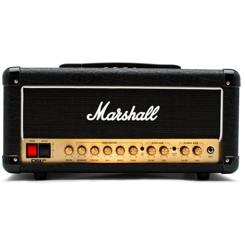 Marshall DSL20H 20W All Valve 2 Channel Head With Digital Reverb