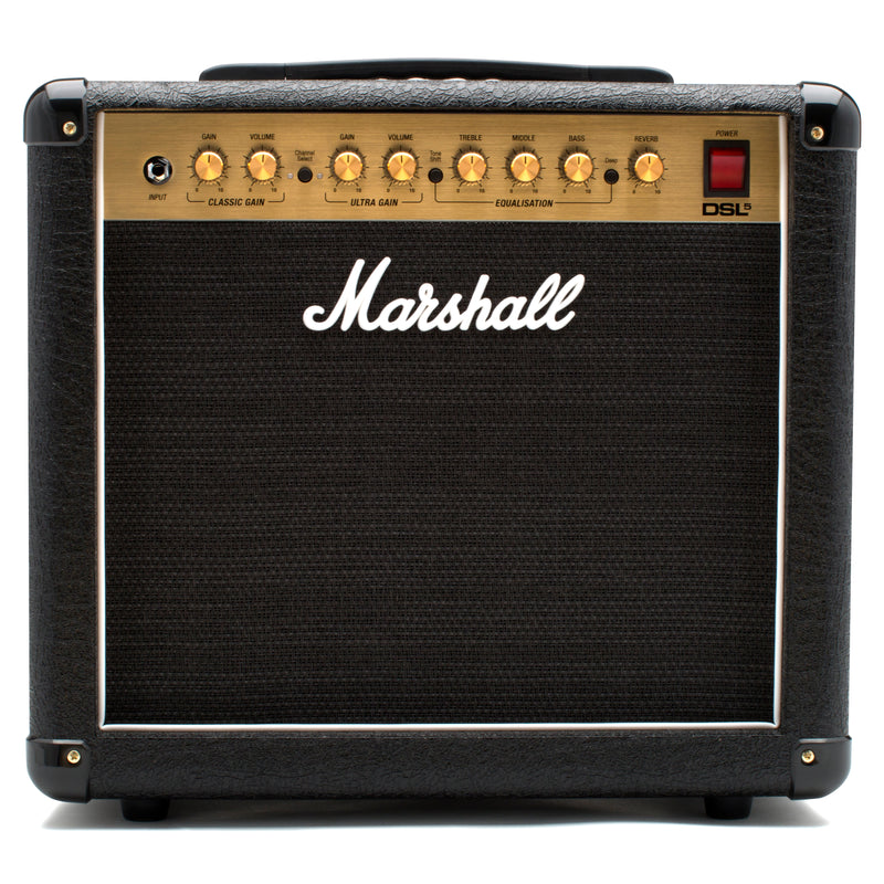 Marshall DSL5C 5W All Valve 2 Channel 1x10 Combo WithDigital Reverb
