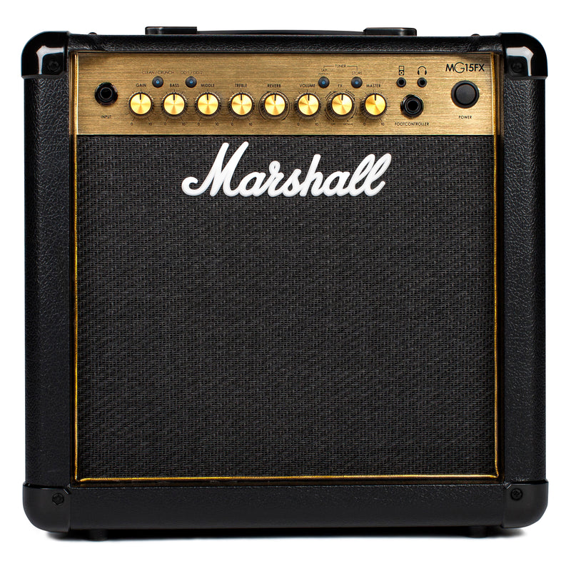 Marshall MG15GFX 15 Watt 1x8 Combo With 2 Channels, FX, Mp3 Input