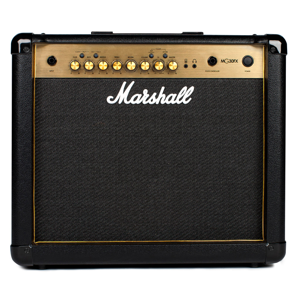 Marshall MG30GFX 30 Watt 1x10 Combo With 4 Programmable Channels, FX, Mp3 Input