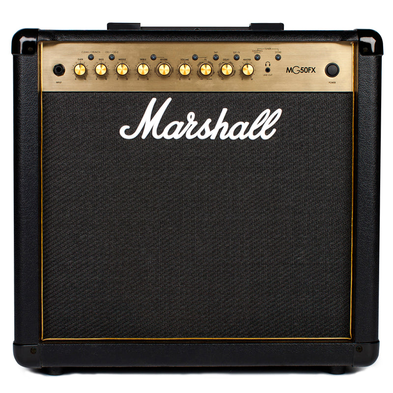 Marshall MG50FX 50 Watt 1x12 Combo With 4 Programmable Channels, FX, Mp3 Input