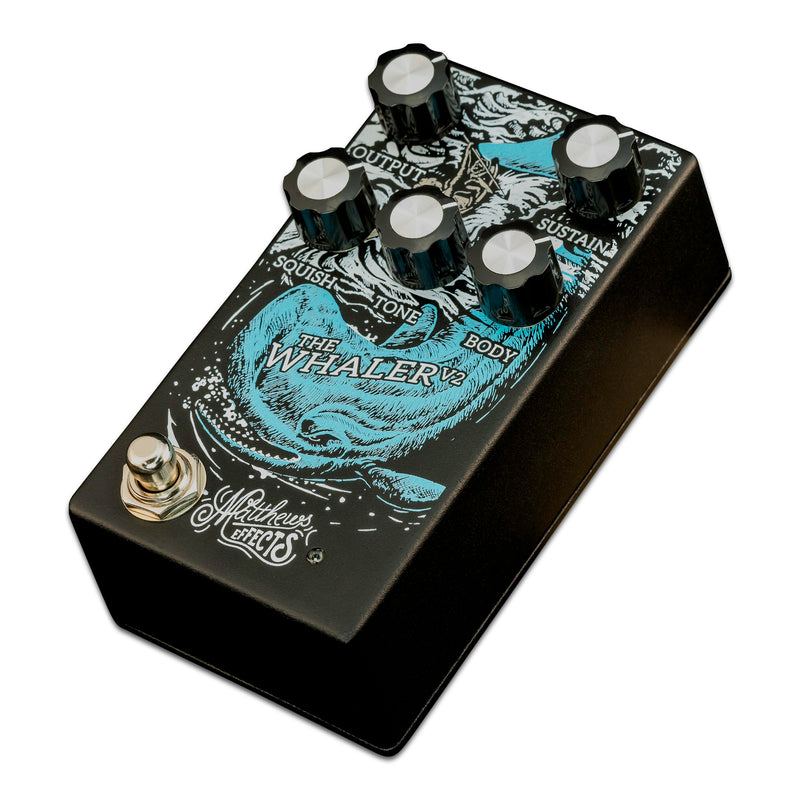 Matthews Effects The Whaler V2 Fuzz Pedal