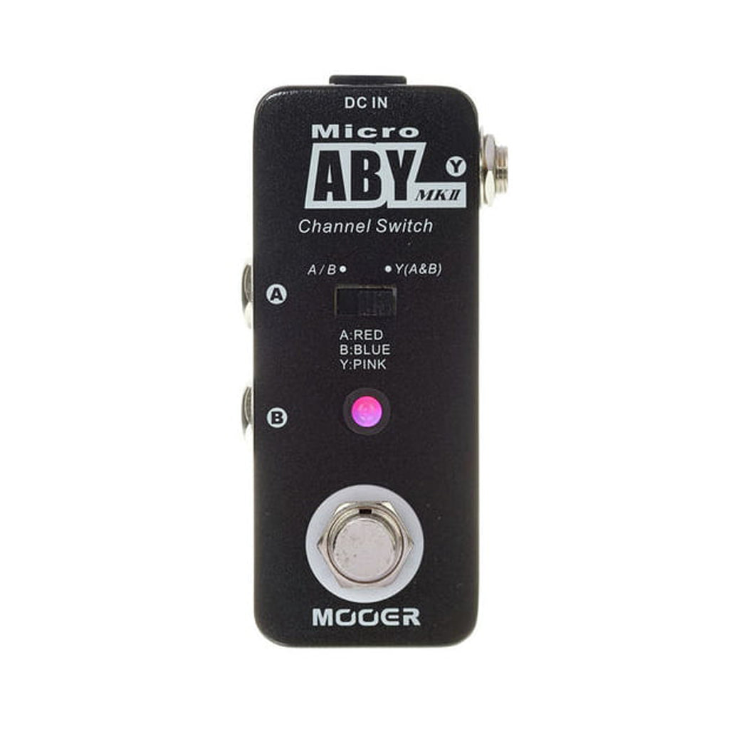Mooer ABY Switcher Pedal MkII