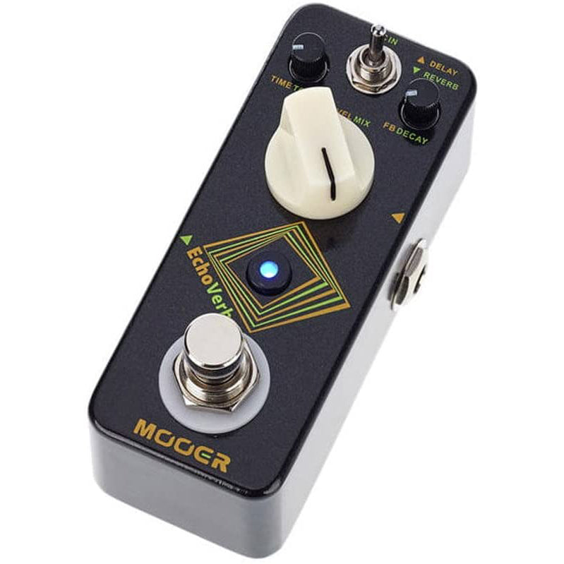 Mooer EchoVerb Micro Digital Delay and Reverb Pedal