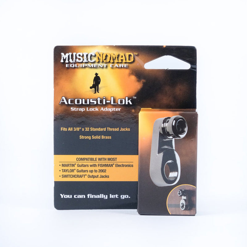 Music Nomad MN270 Acousti-Lok Strap Lock Adapter for Standard Output Jacks