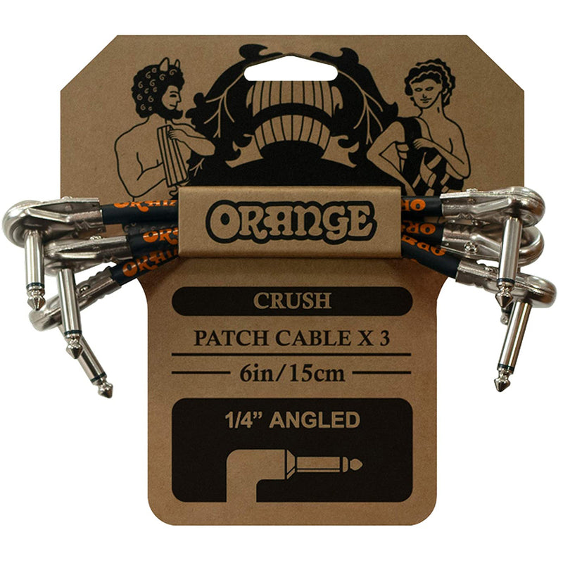 Orange CA038 6 Patch Cable 3pk