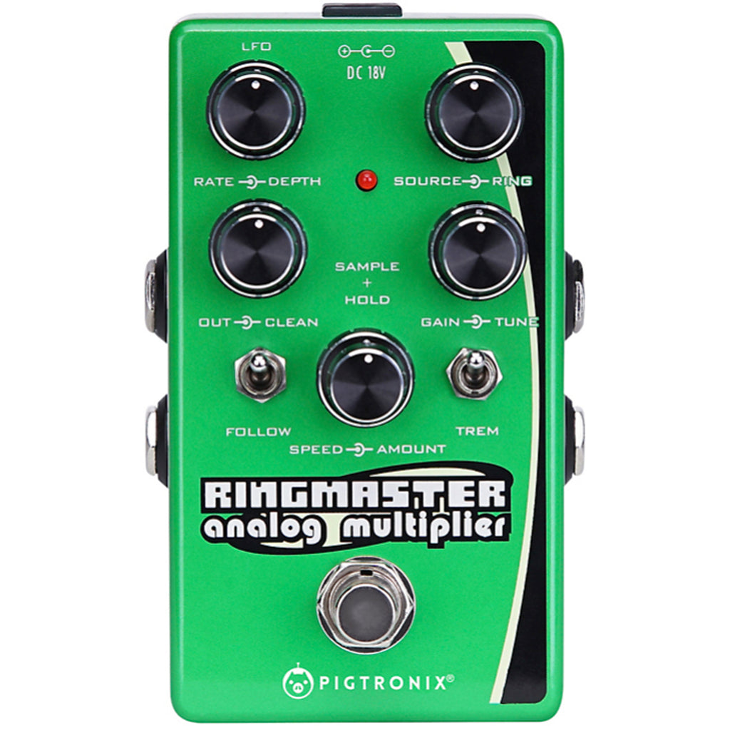 New Arrivals Page 7 Motor City Guitar Electronic Integrated Circuits Popscreen Pigtronix Ringmaster Pedal