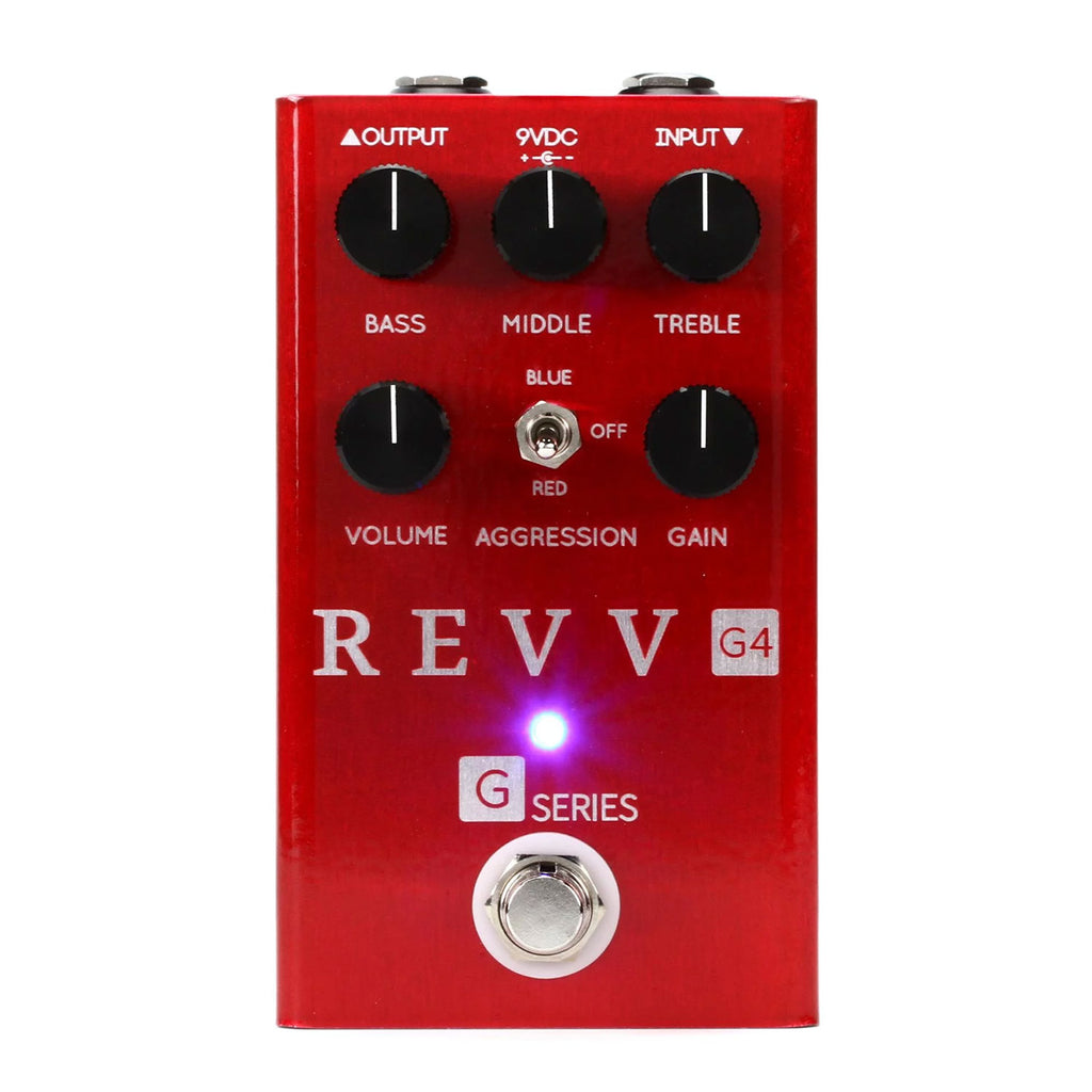 Revv G4 Preamp/OD/Distortion