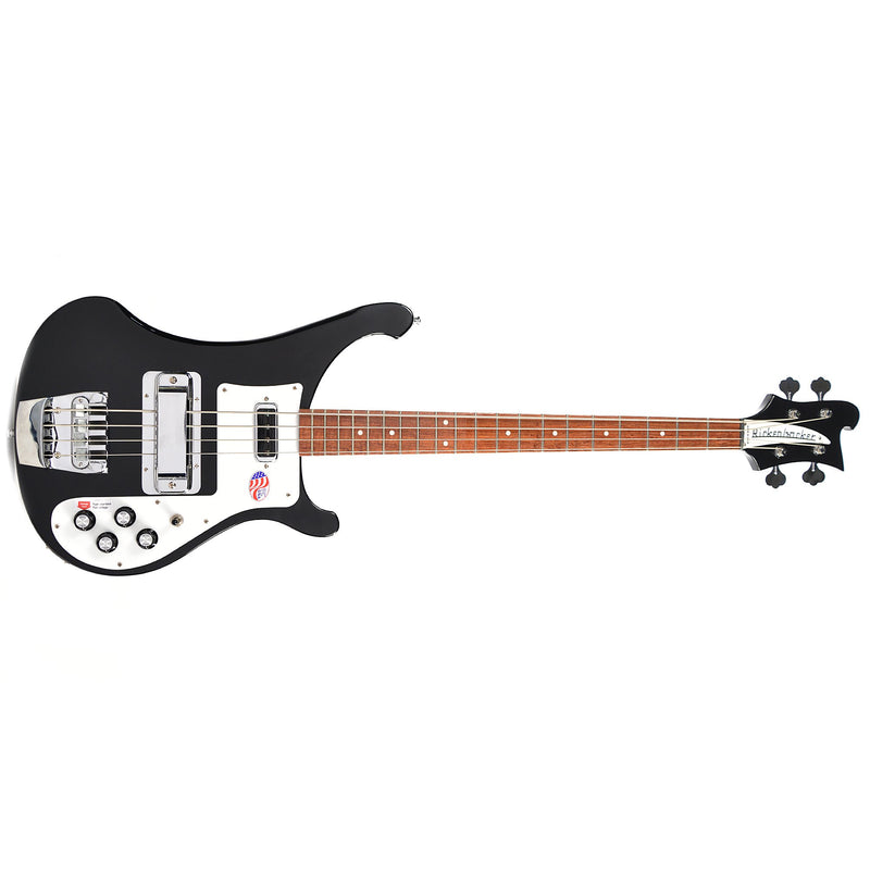 Rickenbacker Model 4003S 4-String Bass Guitar - Jetglo (Gloss Black)