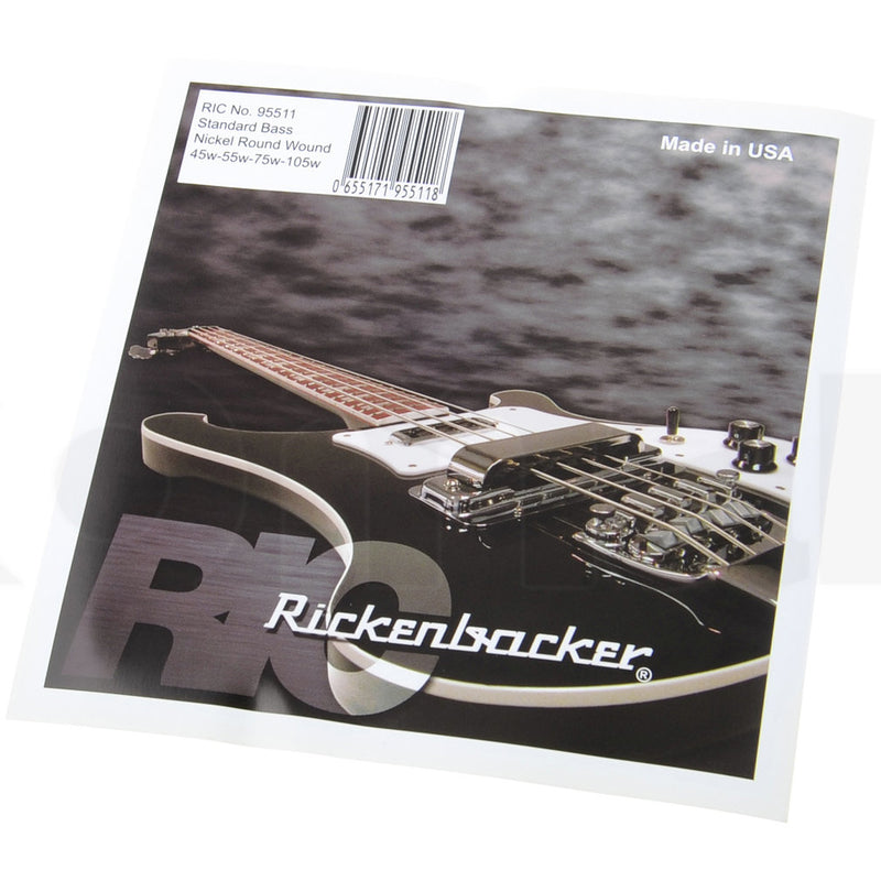Rickenbacker 95511 4-String Electric Bass String Set (45-105)