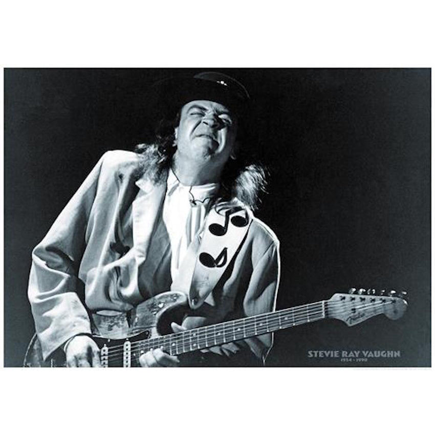 SRV Notes Poster 1954-1990