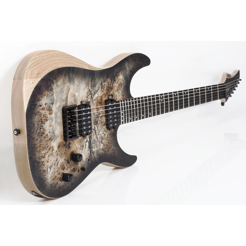 Schecter Reaper-6 Guitar - Satin Charcoal Burst