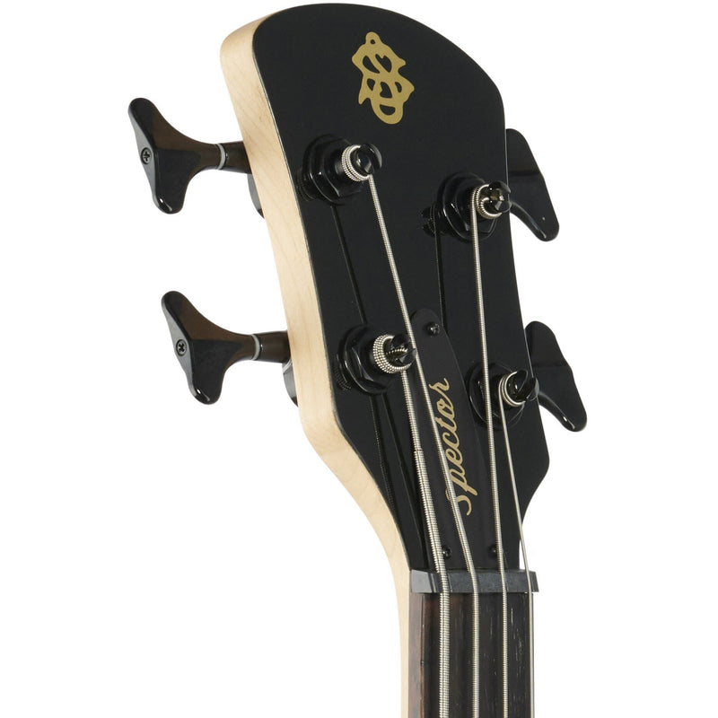 Spector Performer 4 4-String Bass - Solid Black Gloss
