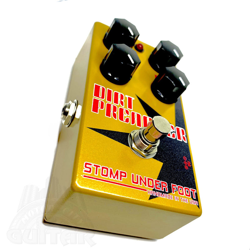Stomp Under Foot Dirt Preacher Pedal