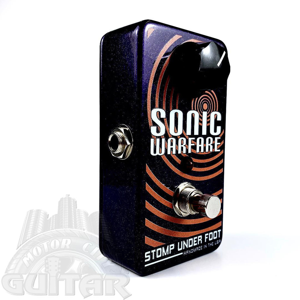 Stomp Under Foot Sonic Warfare