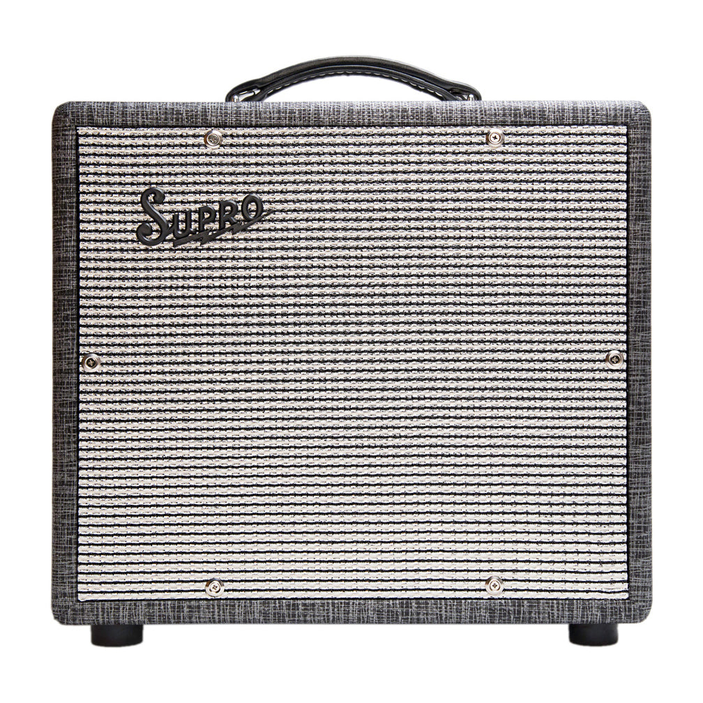Supro 1600 Supreme 25w 1x10 Tu Motor City Guitar 25 W Class A Amplifier